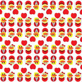 Duck Wedding Wallpaper. Duck Wedding heart illustration Wallpaper Stock Photos