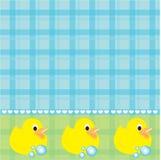 Duckies de borracha Imagens de Stock