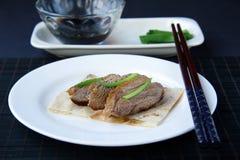 ducks подготовленное мясо Стоковая Фотография RF
