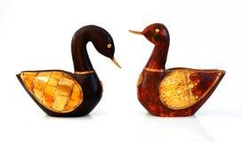 ducks деревянное Стоковые Фотографии RF