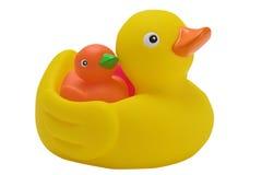 Ducks. Rubber ducks ready for the bath Stock Photo