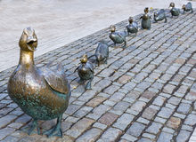 Ducks il monumento Fotografia Stock
