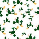 Ducks o teste padrão sem emenda Fotos de Stock Royalty Free