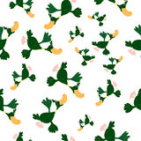 Ducks seamless pattern Royalty Free Stock Photos