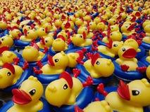 Ducky ванна Стоковые Изображения