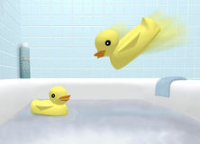 Ducky Time  Royalty Free Stock Photography