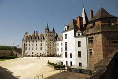Ducs de Бретань des Château в Нанте Стоковые Изображения