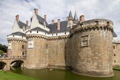 Ducs de Бретань des Château Стоковое Изображение