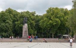Ducs grands de monument de la Lithuanie photographie stock