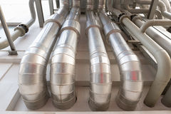 Duct pipe outside Stock Photography
