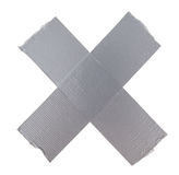 Duct repair tape silver Stock Photo