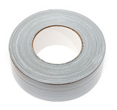 Duct tape. Roll of duct tape on isolated white background Royalty Free Stock Photo
