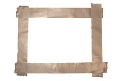 Duct Tape Frame Royalty Free Stock Photo