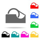 Duct tape icon. Elements of School and study multi colored icons. Premium quality graphic design icon. Simple icon for websites, w. Eb design, mobile app, info Stock Photos