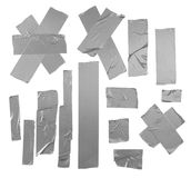 Duct tape patterns isolated Stock Photo