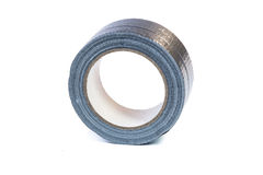 Duct tape roll silver repair reel Royalty Free Stock Photos