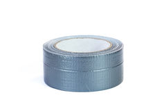Duct tape roll silver repair reel Stock Photo