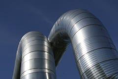 ducts ventilation Royaltyfri Fotografi