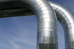 ducts ventilation Arkivfoton