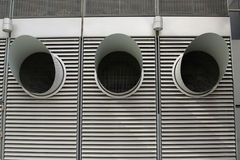 ducts ventilation Royaltyfri Foto