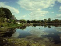 Duddingston Loch Royalty Free Stock Images