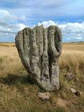 Duddo kamienia okręgu megalit, Northumberland obraz stock