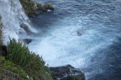 duden водопад индюк antalya Среднеземноморской seashore Стоковое фото RF