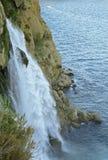 duden водопад индюк antalya Среднеземноморской seashore Стоковая Фотография RF