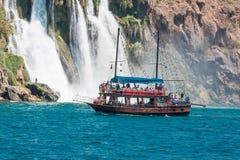duden водопады Стоковая Фотография