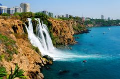 Waterfall, Turkey Stock Photo