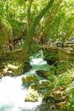 duden vattenfall Royaltyfri Foto