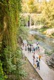 Duden vattenfall i Antalya, Turkiet Arkivbilder