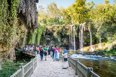 Duden vattenfall i Antalya, Turkiet Royaltyfri Foto