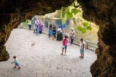 Duden vattenfall i Antalya, Turkiet Royaltyfri Fotografi