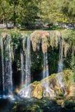 Duden vattenfall i Antalya, Turkiet Royaltyfri Bild
