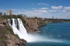 Duden Wasserfall Antalya stockbilder