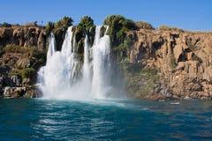 The Duden waterfall. In Antalya. Turkey Stock Image