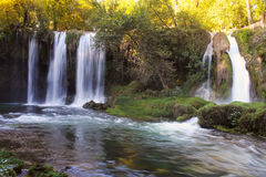 Duden waterfall in Antalya Stock Photo