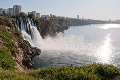 Duden waterfall in Antalya, Turkey Stock Images
