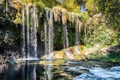 Duden Waterfall in Antalya, Turkey Royalty Free Stock Image