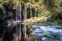 Duden Waterfall in Antalya, Turkey Stock Photos