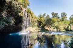 Duden Waterfall in Antalya, Turkey Stock Image