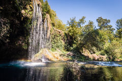 Duden Waterfall in Antalya, Turkey Royalty Free Stock Images