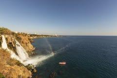 Duden waterfall 3 stock photo