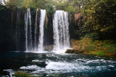 Duden waterfall in turkey Stock Images