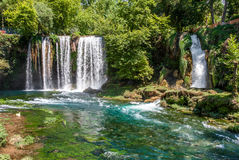 Duden waterfalls in Antalya, Turkey. Stock Photography
