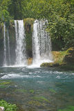 Duden waterfalls carve through karst Royalty Free Stock Image