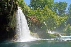Duden waterfalls carve through karst Royalty Free Stock Photos