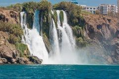 Duden waterfalls stock photo