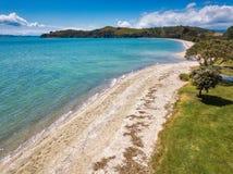 Dudersi plaża, Auckland Nowa Zelandia Obraz Royalty Free